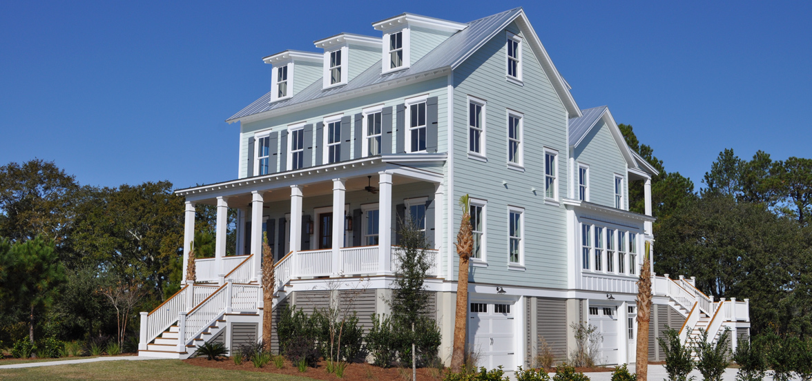 Beekman Point Southern Charm on the Wando by JacksonBuilt Custom Homes